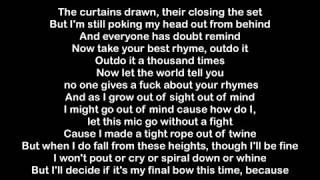 Eminem - Walk On Water (Lyrics) ft. Beyoncé l A Lyrics
