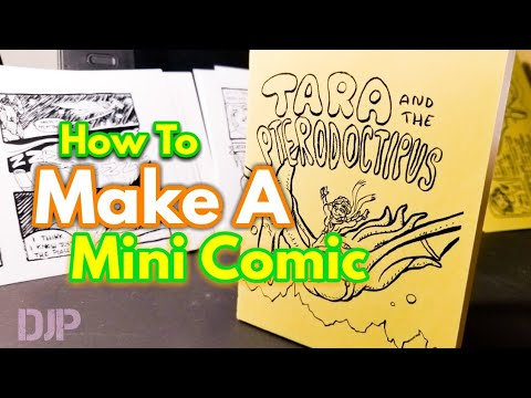 How to Make a Mini Comic from Start to Finish (7 Steps)