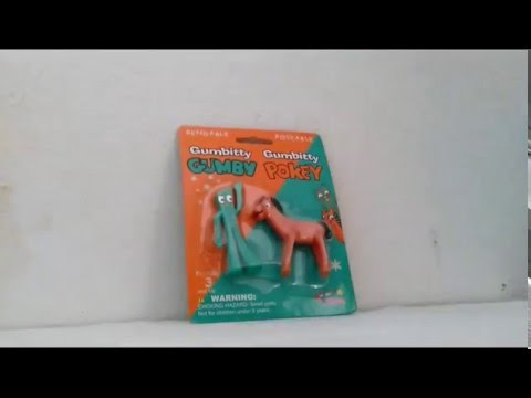 Gumby And Pokey toy review from 2004 |part 1| - YouTube