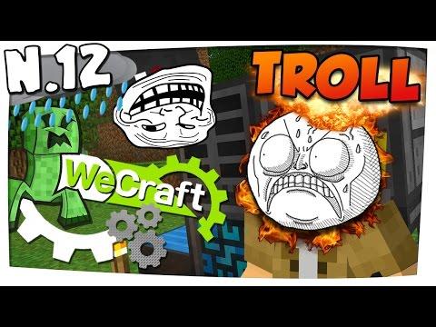 Sono stato TROLLATO da MarcusKron?! #12   WECRAFT