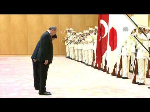 Turkish President Recep Tayyip Erdogan in Japan