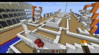Minecraft Tutorial R.M.S Titanic [Part.3/3]