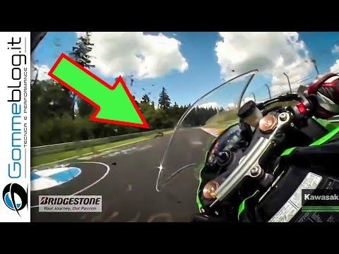 Nurburgring RECORD - Kawasaki Ninja ZX10R TOP SPEED