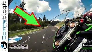 Nürburgring RECORD - Kawasaki Ninja ZX10R TOP SPEED at the Nurburgring