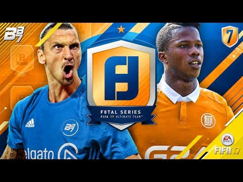 F8TAL cMOTM IBRAHIMOVIC! QUARTER FINAL VS FUJI! | FIFA 17 ULTIMATE TEAM!