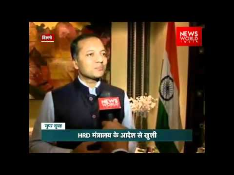 Naveen Jindal Welcomes decision to Hoist National flag on Central Universities