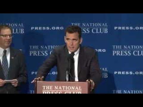 Matt Dillon speaks at the National Press Club 11, 2017 - The Best Documentary Ever