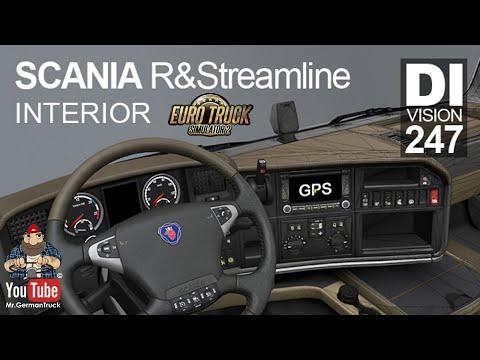 [ETS2 v1.36] Interior Scania R & Streamline 2009 *Improvements*