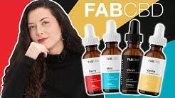 FAB CBD Oil Review: Best Tasting Oil?