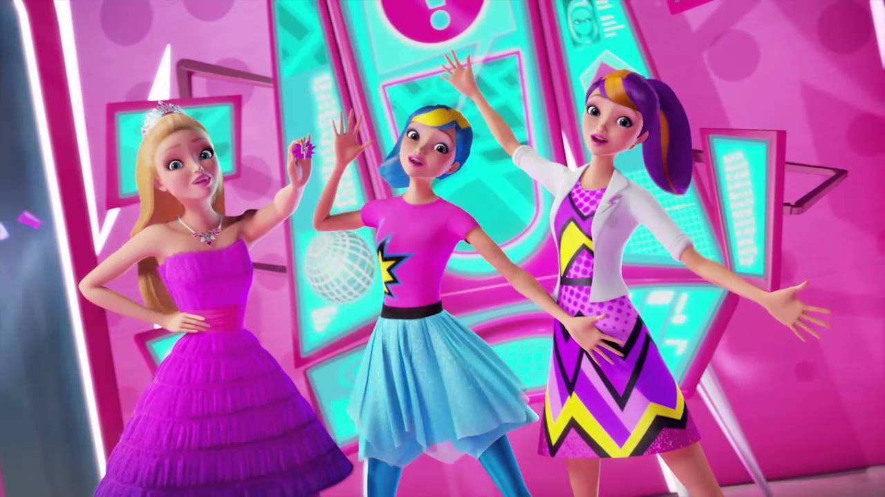 Barbie In Princess Power Barbie Super ί Youtube