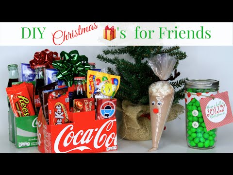 3 DIY Friend Christmas Gifts + #ShareTheGift Nativity Collab