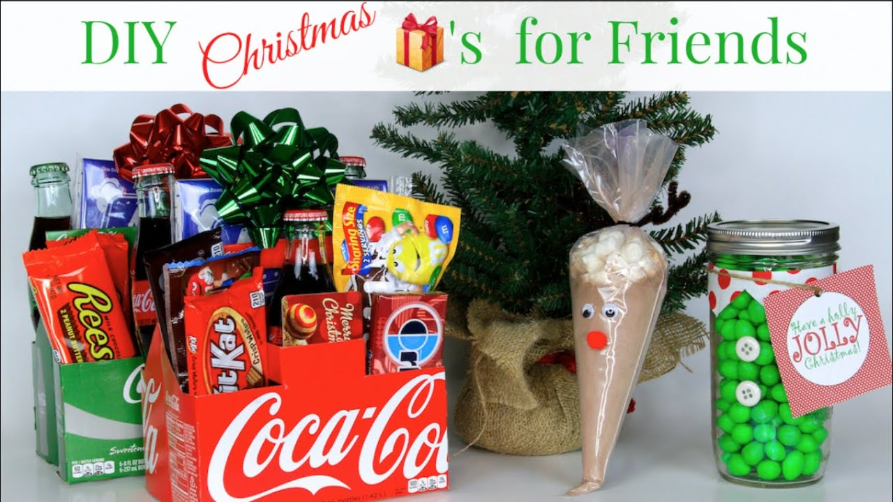 3 Diy Friend Christmas Gifts Sharethegift Nativity Collab Youtube
