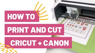 How To Print And Cut Cricut   Canon!