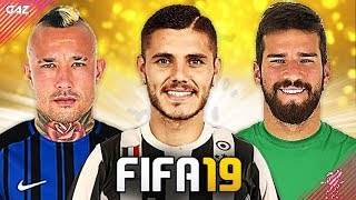 LA JUVE VUOLE ICARDI & MILINKOVIC!!! TOP 10 TRASFERIMENTI ASSURDI IN FIFA 19! [Alisson, Nainggolan]