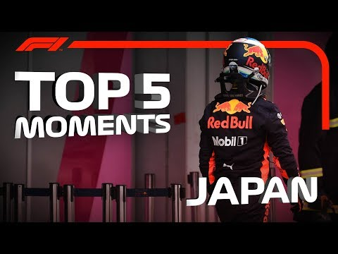 Top 5 Moments | 2018 Japanese Grand Prix