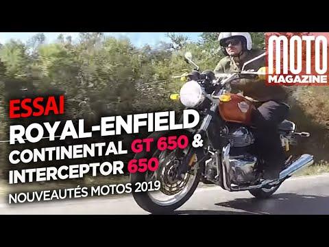 Download Royal-Enfield Continental GT et Royal-Enfield Interceptor - Essai Moto Magazine