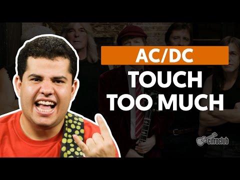 Touch Too Much - AC/DC (aula de guitarra)