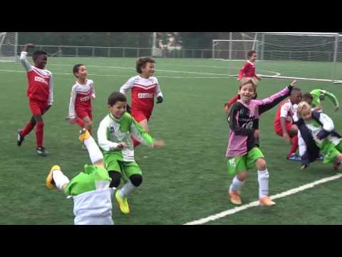 Brussels Youth Football - Iris League - 2016-10-15 ROFC Stockel U8 A versus Sporting Brussels U8 A