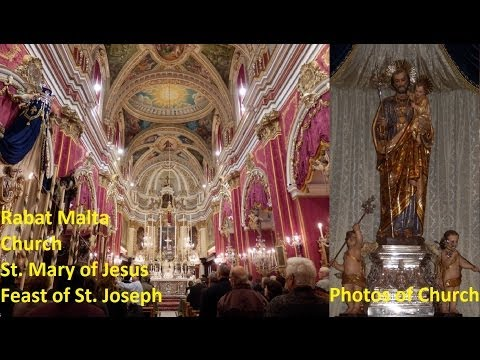 Rabat M St. Mary of Jesus - Feast St. Joseph 2014 - Peal 4 (1,2,3,4,5) - 5 Bells / 32