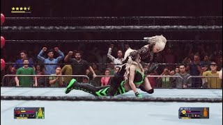 WWE2K20  Lisa Tian VS Mai Saito WWE Smackdown Womens Championship