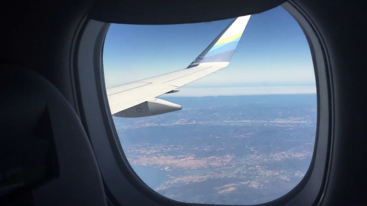 "Airplane windows do not ""fisheye"" distort the view - YouTube"