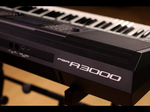 Yamaha PSR-A3000 Arranger Workstation Keyboard Demo