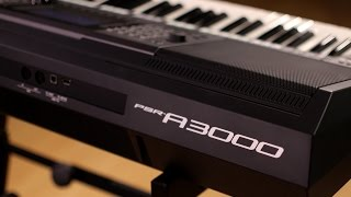 Yamaha PSR-A3000 Arranger Workstation Keyboard Demo