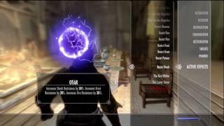 Skyrim Vampire Guide - Spells - Cures