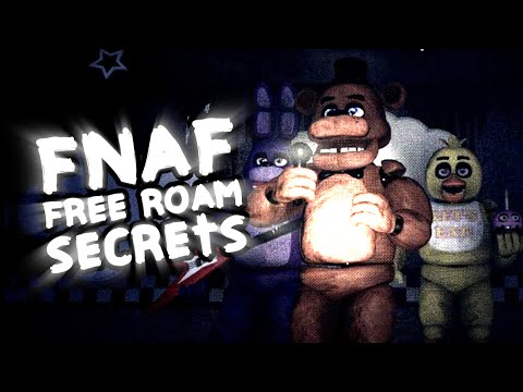 FNAF Free Roam! || Easter Eggs & More!! || Unreal Shift At Freddy's