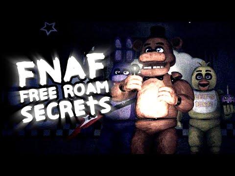 FNAF Free Roam! || Easter Eggs & More!! || Unreal Shift At Freddy's