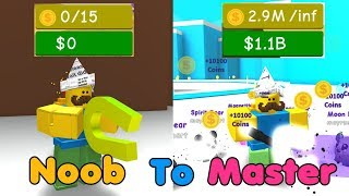Noob To Master! Got Best Magnets & Unlocked Everything! 2 Bil Money! - Magnet Simulator!