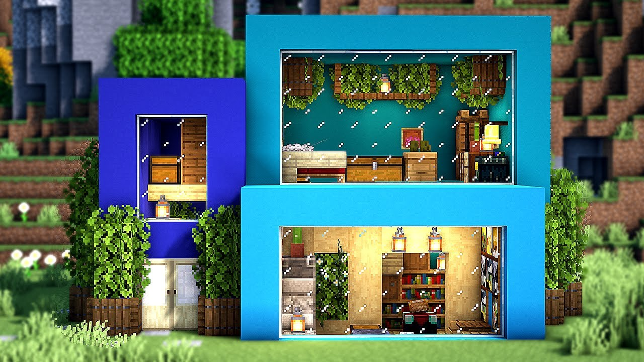 Modern Easy Minecraft House Design Minecraft Simple Modern Survival House Tutorial Xbox 360 Ps3 Xbox One Ps4