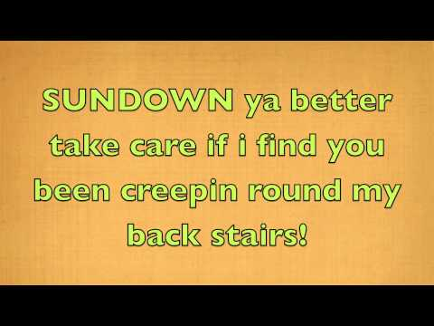 Gordon Lightfoot   Sundown Official Lyrics Hd1080