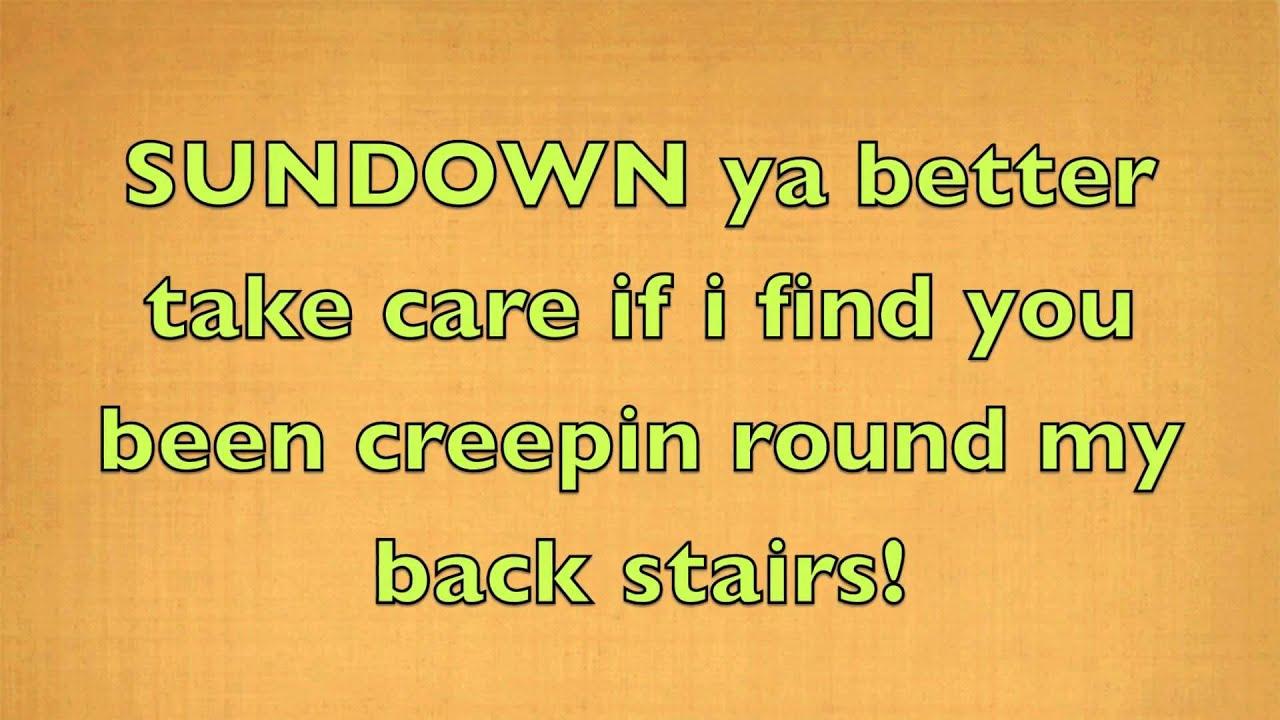 Gordon Lightfoot Sundown Official Lyrics hd1080 - YouTube