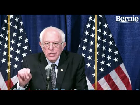 BERNIE DELIVERS CAMPAIGN UPDATE FROM BURLINGTON