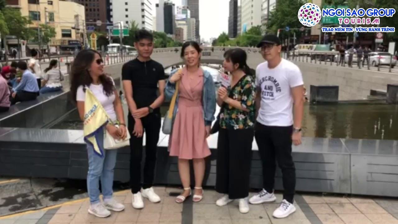 Đánh Giá Tour Hàn Quốc 08-07-2019 Của Ngôi Sao Tour