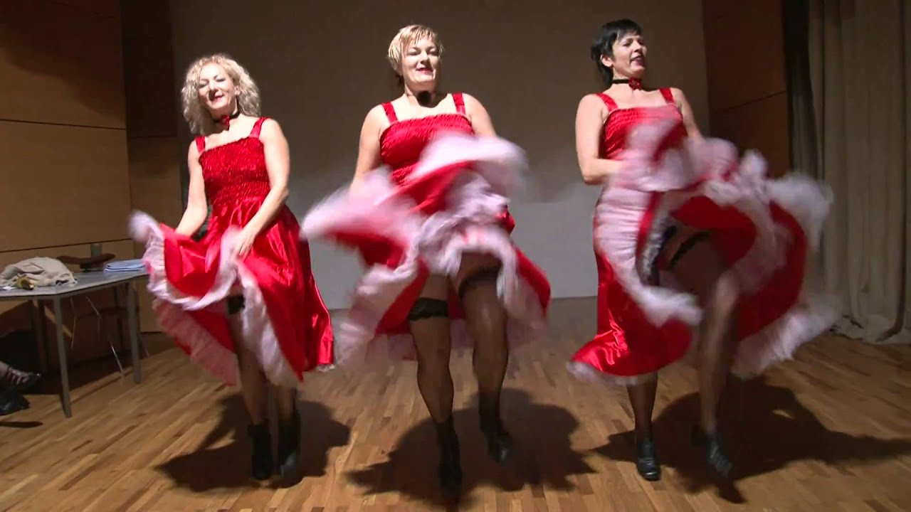 Samo za Mojco: Dekltea iz Moulin Rouge - CAN -CAN  - YouTube