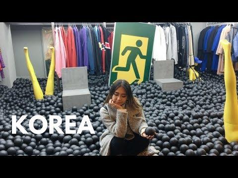 Shopping in Korea Myeongdong (Aesthetics stores)