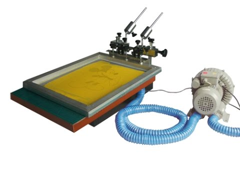 TShirt Vacuum Screen Printing Machine, DIY Bag Printing Machine T Shirt Screen Printing Equipment