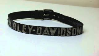 9172f85396 Harley Davidson Metal Belt 99465-10VM