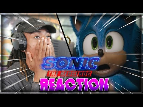 HE IS ADORABLE!! | Sonic The Hedgehog (2020) - New Official Trailer Live Reaction