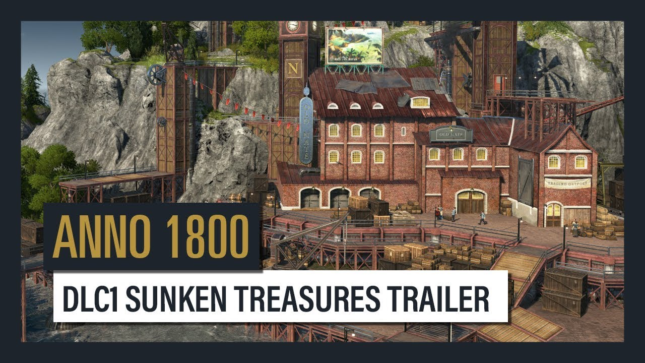 DISCOVER SUNKEN TREASURES IN THE FIRST DLC FOR ANNO 7