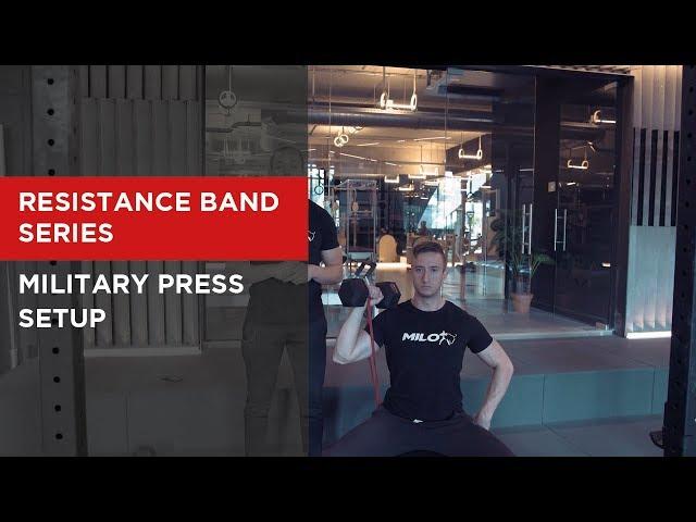 SERIES: Military Press Setup