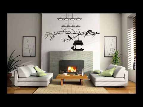 35 идей Декора стен в гостиной