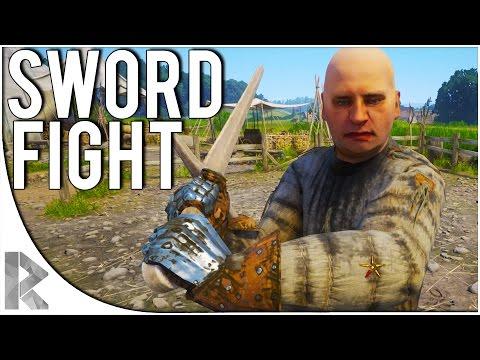 Kingdom Come Deliverance Beta - Part 2: SWORD FIGHT/TRAINING (Kingdom Come Deliverance Part 1)