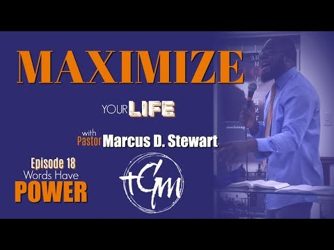 Judges 6:12-16 Words Have Power (Defining Titles) Maximize Your Life with Pastor Marcus