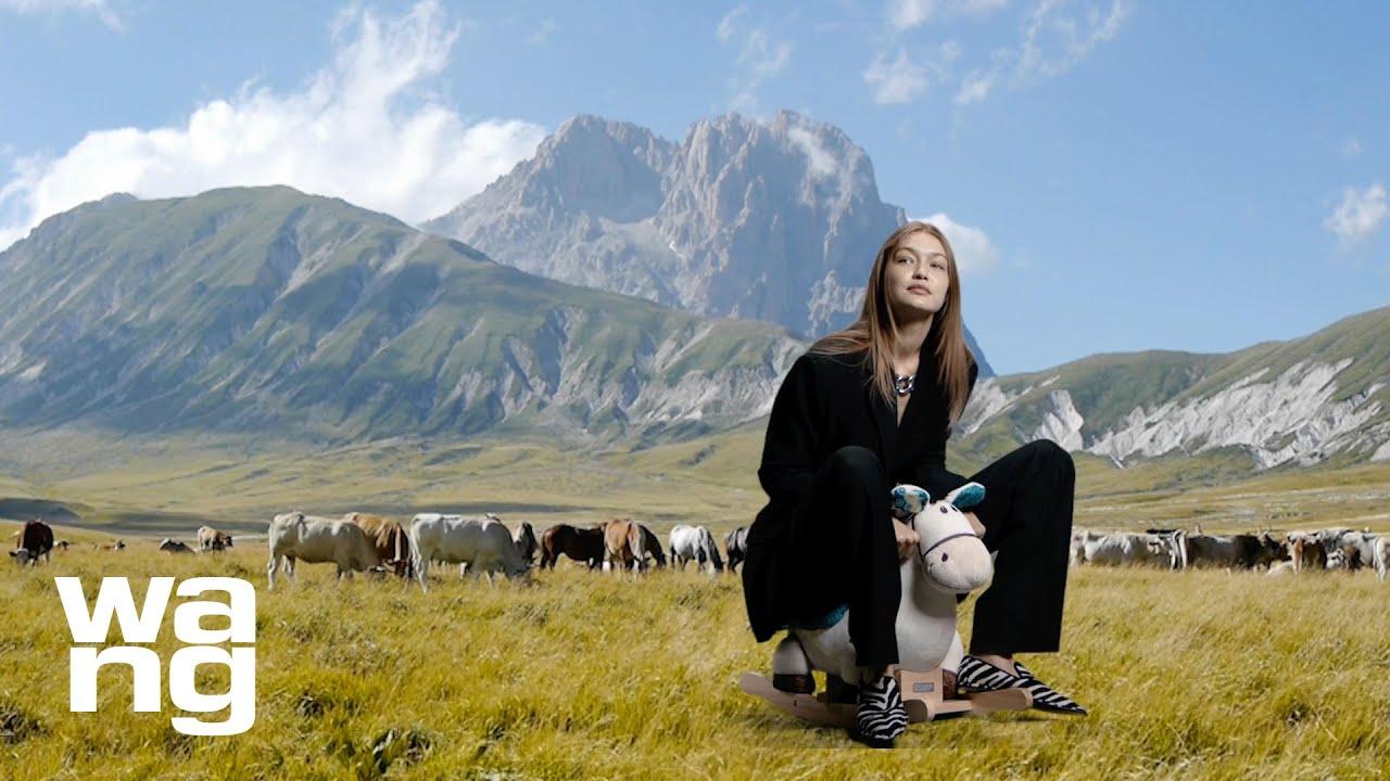 Gigi Hadid answers Big Questions on a Tiny Horse | alexanderwang