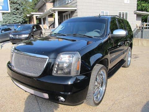 """2007 GMC Yukon SLT 4x4 24"""" Wheels Elite Auto Outlet Bridgeport Ohio"""