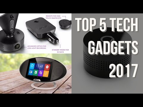 Top 5 must see latest gadgets 2017   Clarity VAVA Dash Cam etc