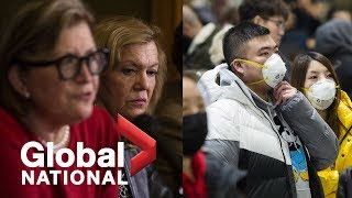 "Global National: Jan. 25, 2020 | Canada reports first ""presumptive"" case of coronavirus"